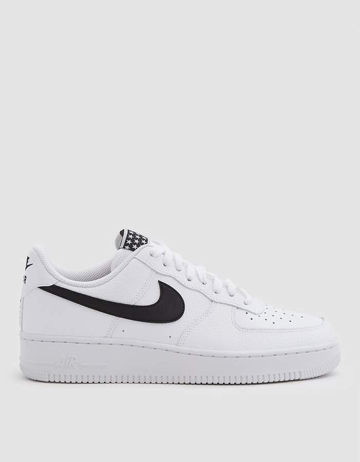 Air Force 1 '07 Sneaker in White Black   Nike air force