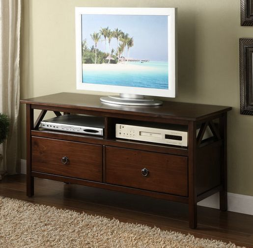 44 Inch Titan Tv Stand Console Entertainment Center Wood Gaming Rhpinterest: Linon Home Decor Titan Tv Stand At Home Improvement Advice