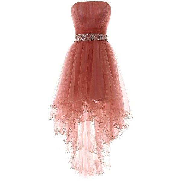 YiYaDawn Women\'s High-low Homecoming Dress Short Evening Gown ($89 ...
