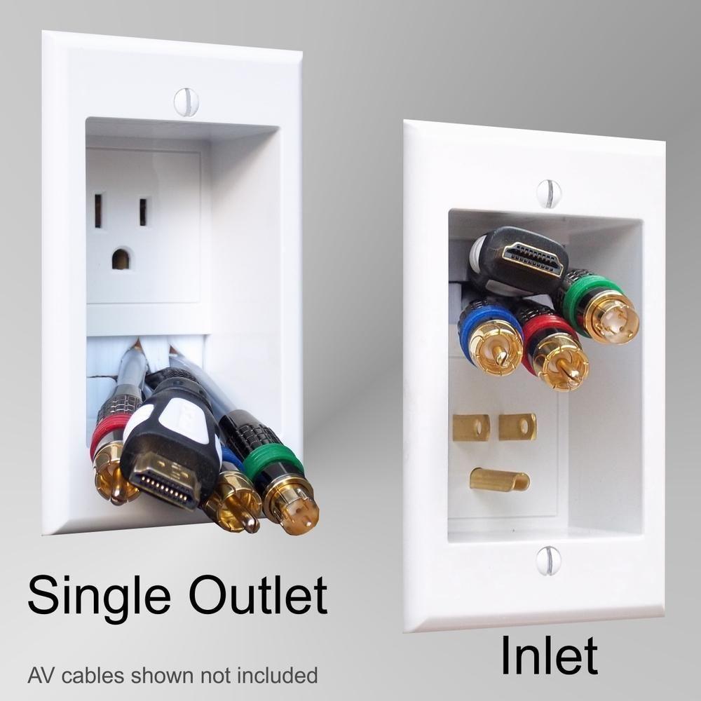 PowerBridge in-wall inwall TV samsung led lcd flat screen hdtv mount ...