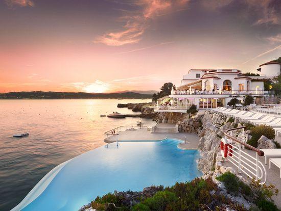 Cap d'Antibes (Francia).