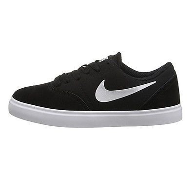 Nike SB Check Gs Big Kids 705266-001 Black White Skateboard Shoes Youth  Size 5.5