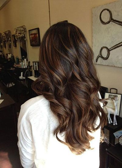 des meches caramel pour illuminer une coloration chocolat coiffure pinterest coloration. Black Bedroom Furniture Sets. Home Design Ideas