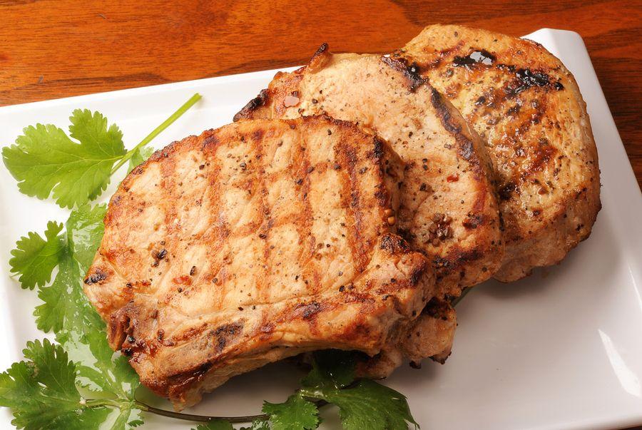 Paleo Grandmother's Pork Chop Dinner