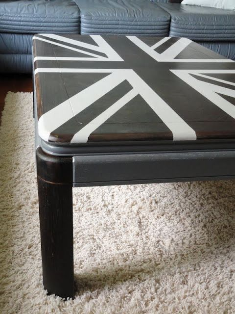 Kayboo Creations Union Jack Coffee Table Furniture Pinterest Union Jack Coffee And Tables