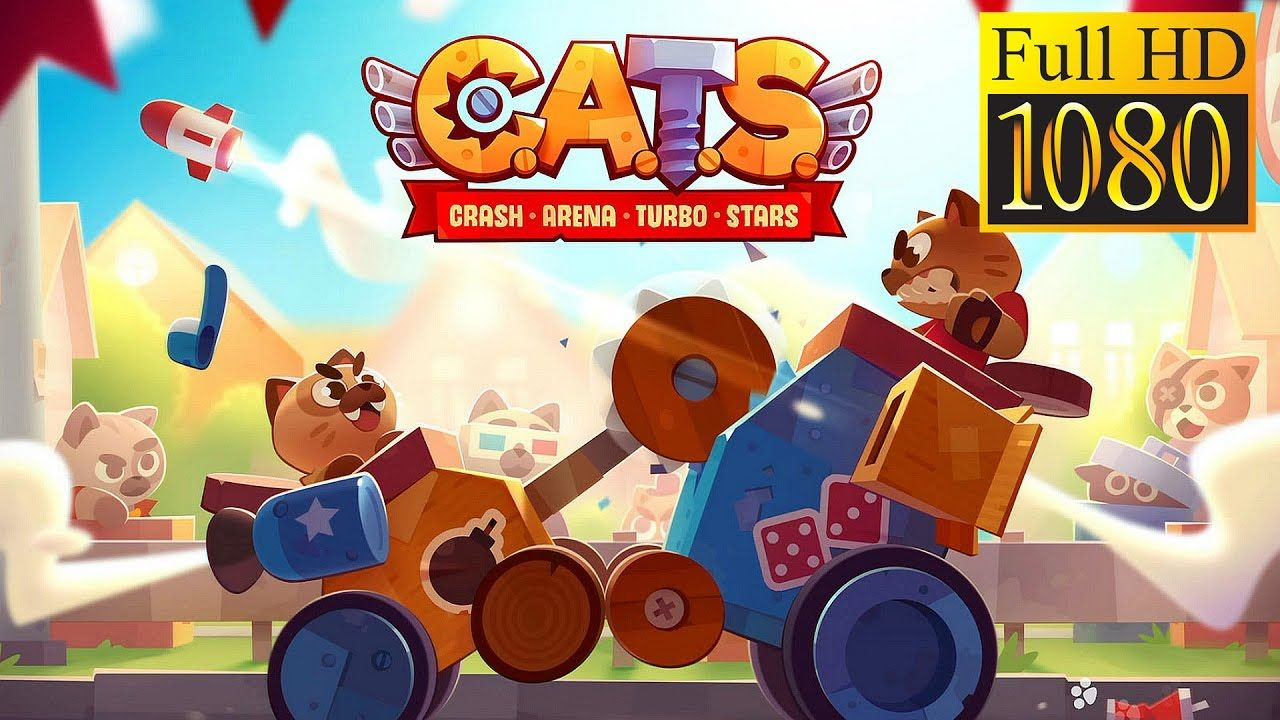 CATS Crash Arena Turbo Stars Game Review 1080p Official