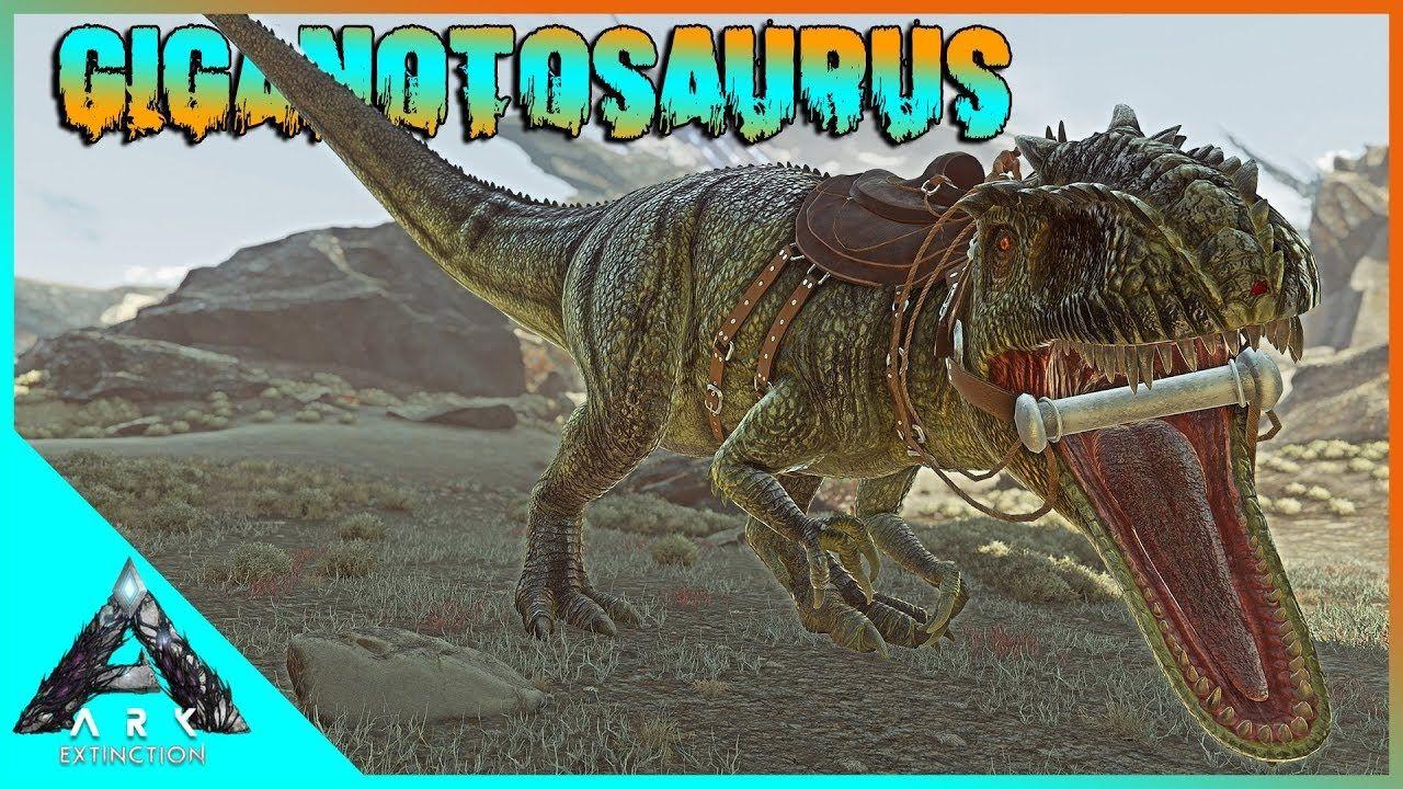 Berburu Giganotosaurus Bikin Pasukan Dino! - Ark Survival
