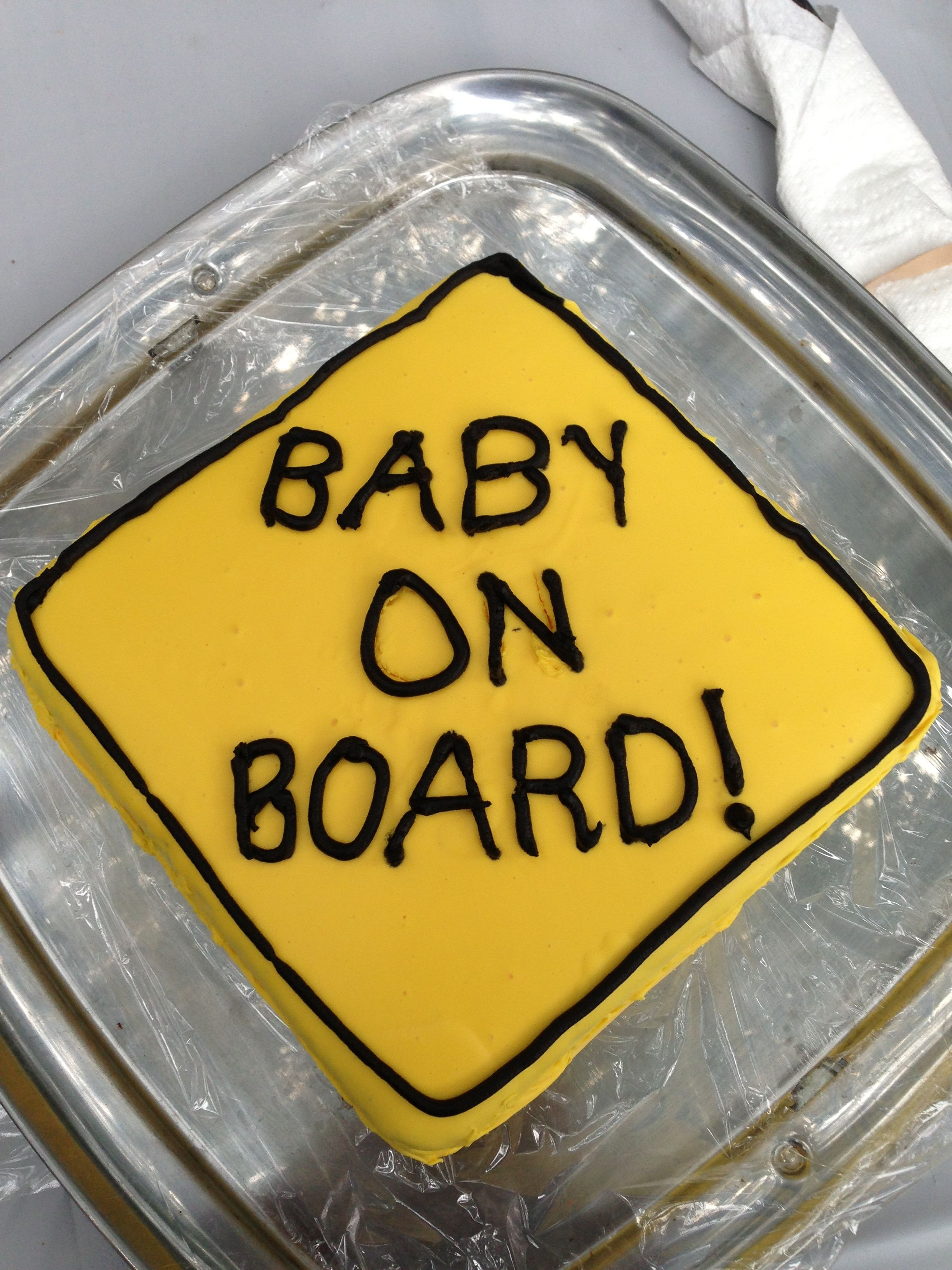 My surprise baby announcement cake | Baby Stuff | Baby announcement