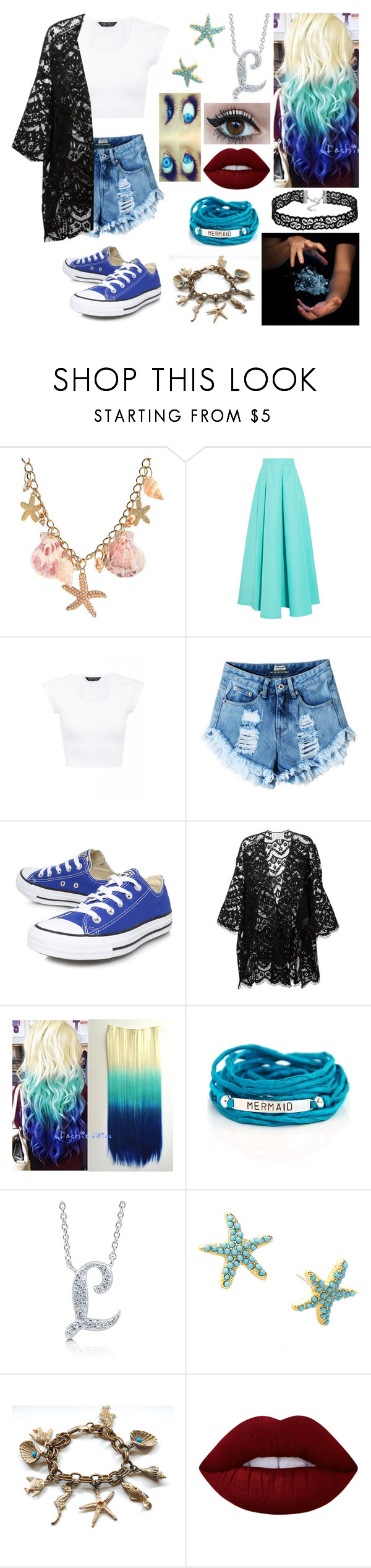 """I go, I go, I go, I go, crazy."" by skh-siera18 ❤ liked on Polyvore featuring Roksanda, Converse, Chloé, Blooming Lotus Jewelry, BERRICLE, Lilly Pulitzer and Lime Crime"