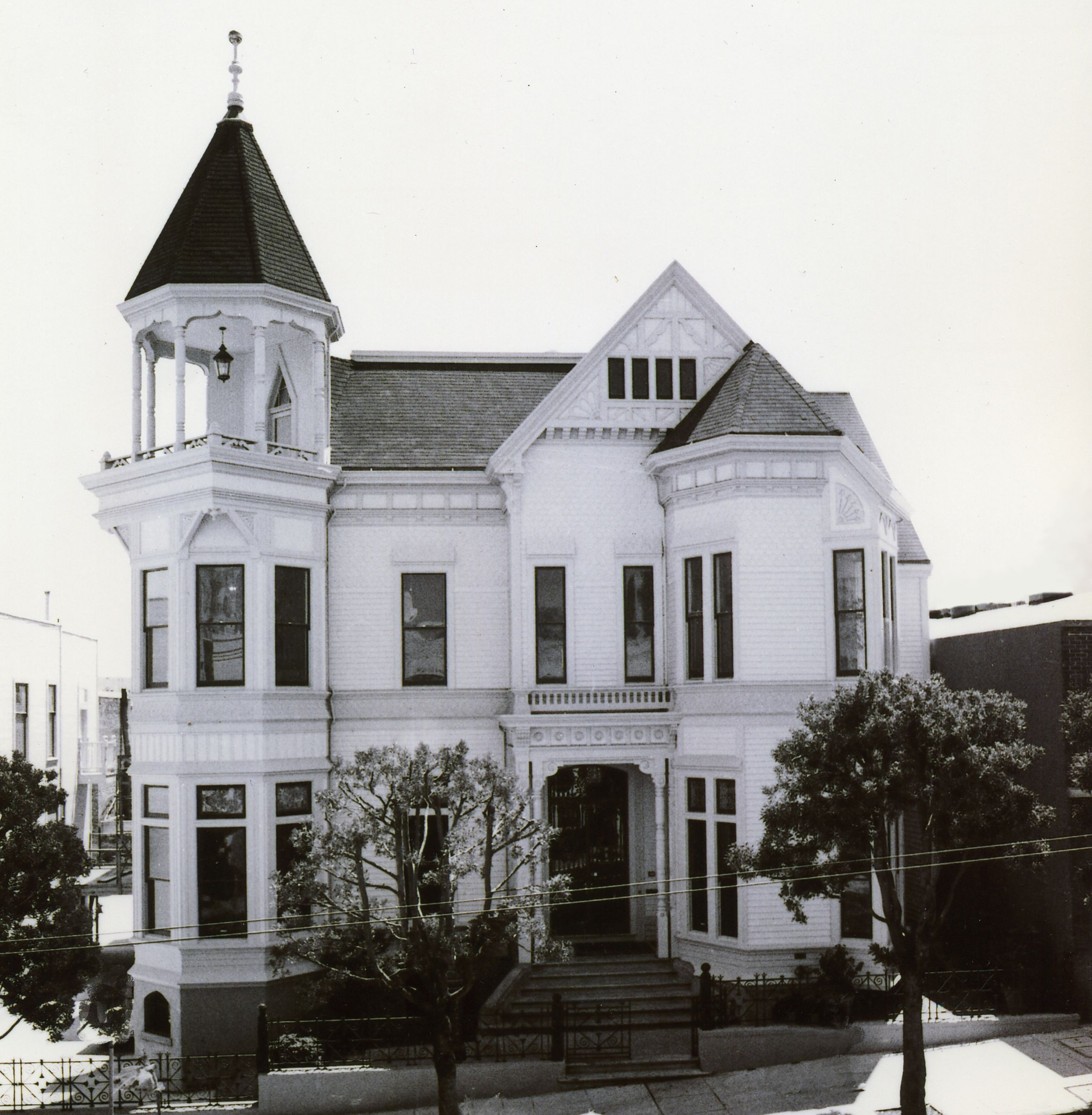 The Payne House 1409 Sutter Street San Francisco Victorian House Plans Victorian Homes Victorian Architecture