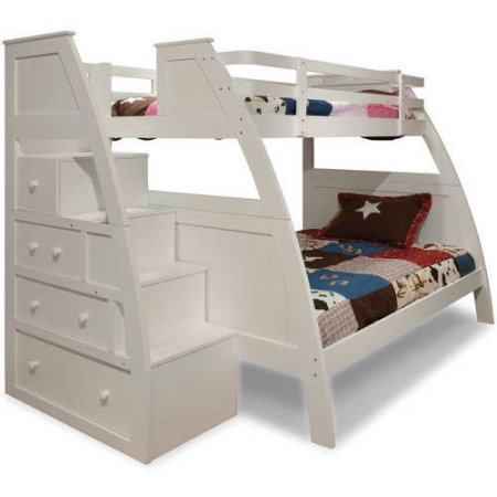 Better Homes And Gardens Sebring Collection White Bunk Beds