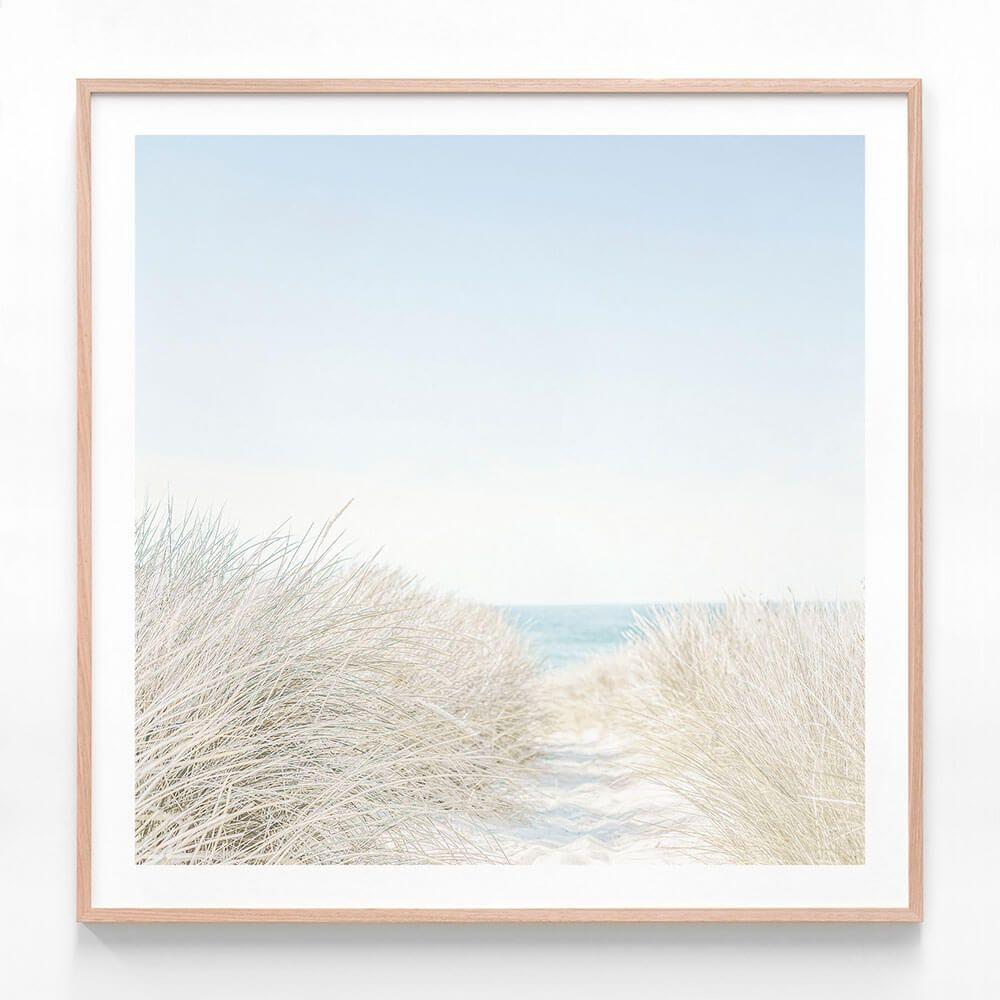 Ocean Path In 2020 Framed Prints Large Artwork Canvas Wall Art