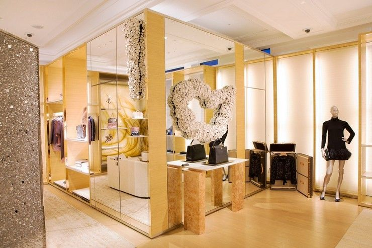 e5e7b29c0a3 LOUIS VUITTON threw open the doors of its Townhouse store-in-store in  Selfridges yesterday with two celebratory events.