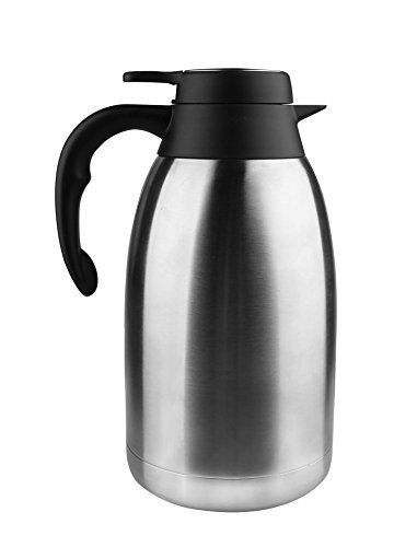 Spaco 68 Oz Stainless Steel Thermal Carafe Double Walled Vacuum