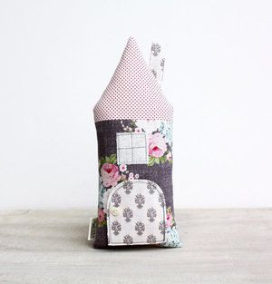 Super cute Floral Cottage Tooth Fairy Pillow!