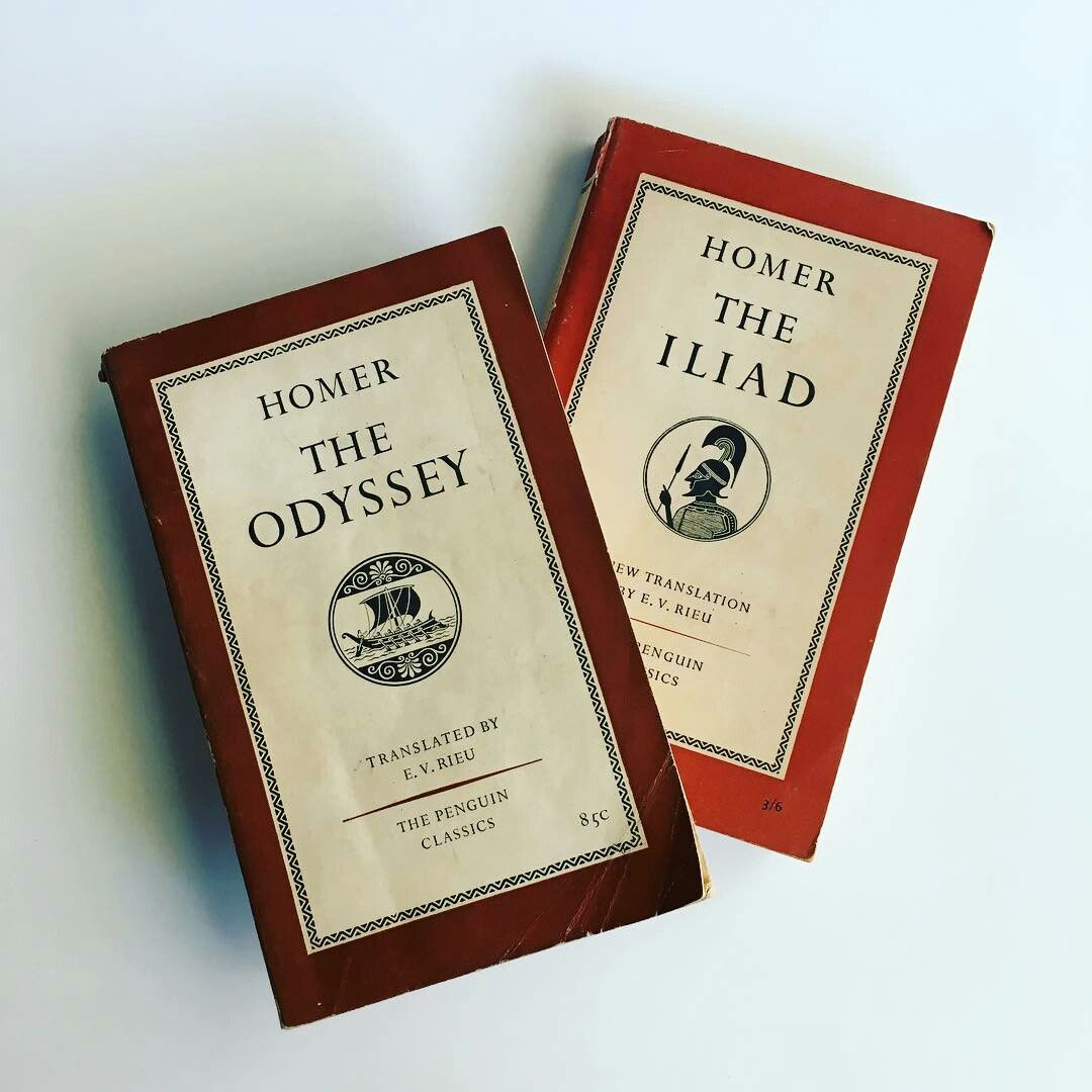 The Odyssey And The Iliad By Homer Greek Mythology Philosophy Book Aesthetic Books The Secret History