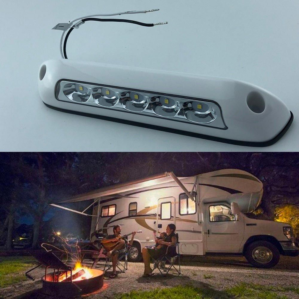 Tip 4868667425 6500k 12v Led Awning Lights Waterproof Rv Van Camper Trailer Heavy Duty Off Road Motorhome Caravan Ex Awning Lights Camping Bar Camper Trailers