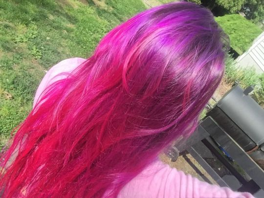 Purple To Hot Pink Ombre Hair Colors Ideas Hair Pink Ombre Hair Ombre Hair Color