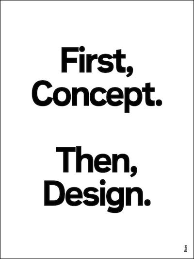 design semiotics .. So true !   Inspirerende, Grafisk ...