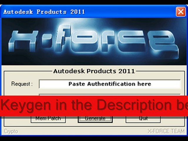 xforce keygen download autocad 201212