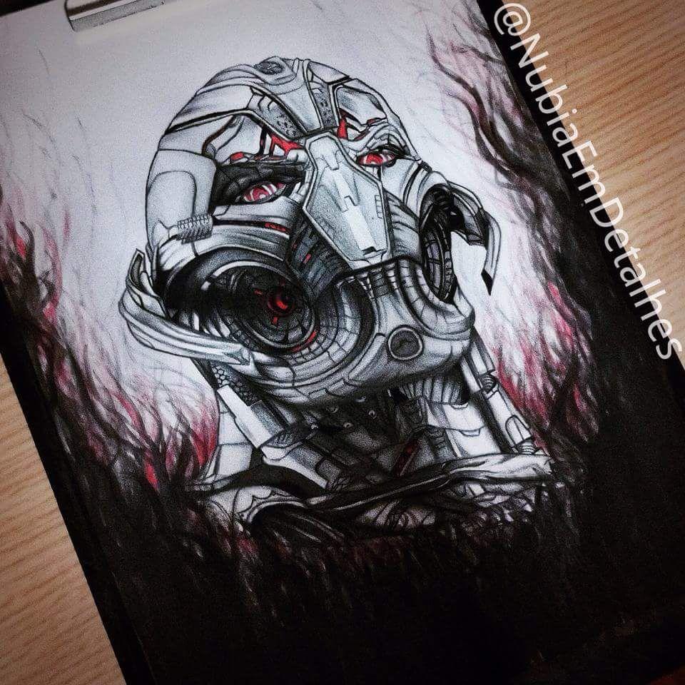 The Ultron by Fanart @NubiaEmDetalhes