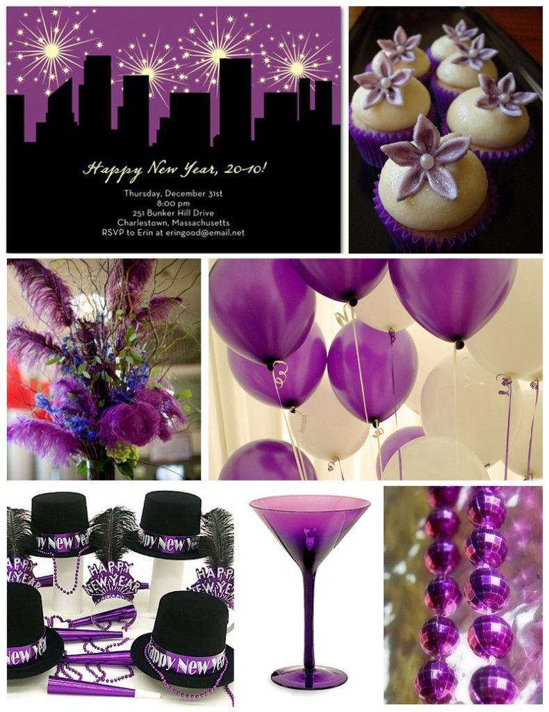 nbew years use black material over boxes for the new york skyline find 2 3 black hats 2 pairs of long gloves photo of a purple new years eve party