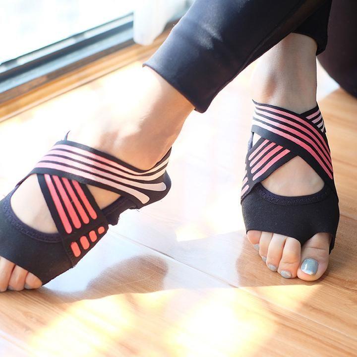 Professional Yoga Shoes Open Tow Yoga Shoes Pilates Clothes Professional Yoga