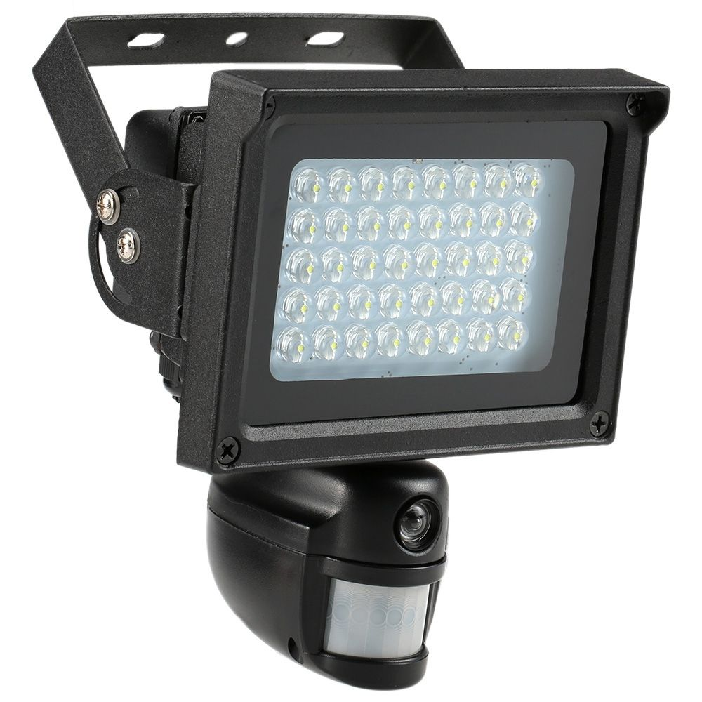 Flood Light Security Camera Extraordinary 40 Ir Leds Solar Floodlight Street Lamp 720P Hd Cctv Security Camera 2018