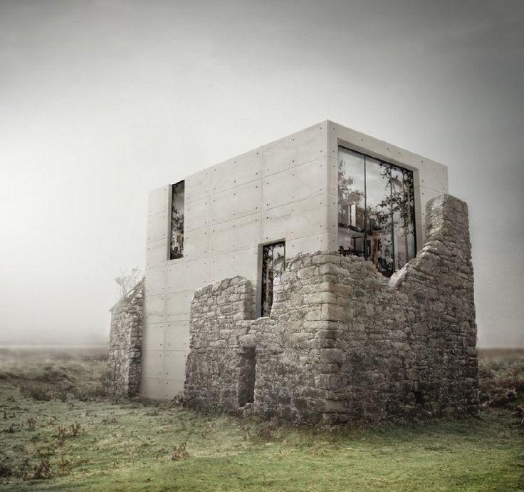 Permettre au passé d'être le protagoniste de l'architecture contemporaine #architecture