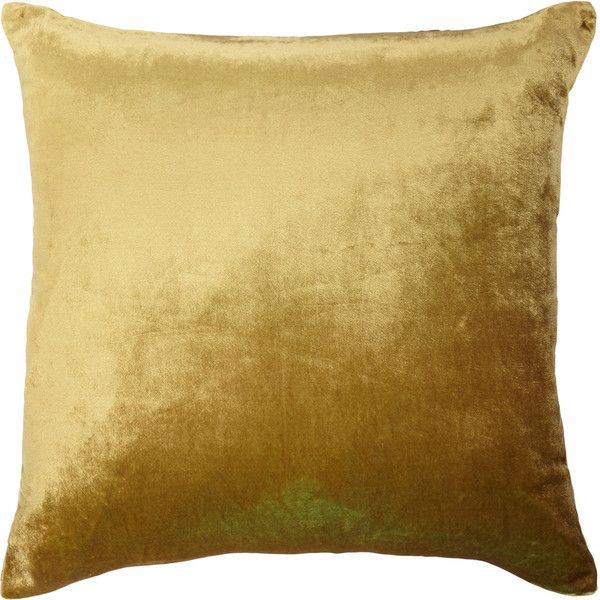 9213eb6af9cf5 Kevin O Brien Velvet Pillow ( 325) ❤ liked on Polyvore featuring home