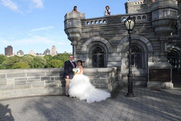 A Wedding On Belvedere Castle Terrace Central Park