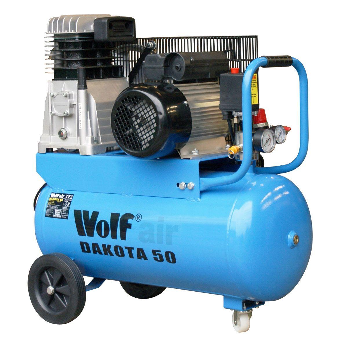 Wolf Dakota 50L Air Compressor. This 50L has been