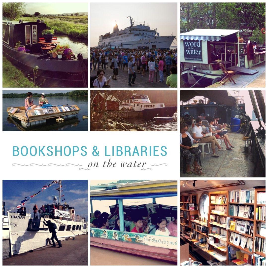 Mejores #bookshops y #libraries en el agua