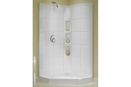 Sterling 72044100-0 Intrigue Shower Wall Set Only Neo-Angle Corner ...