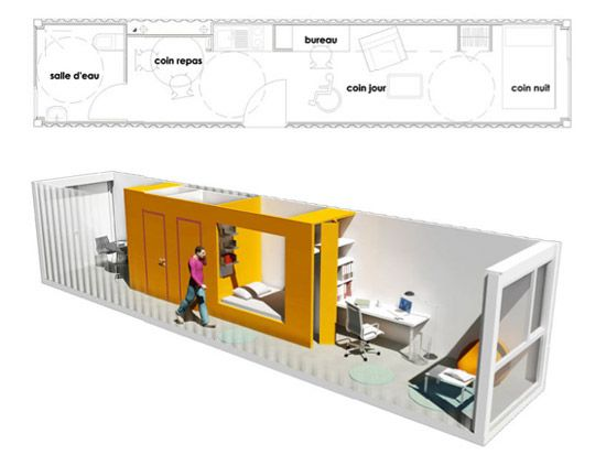 Student Housing Complex Designed From 100 Recycled Shipping