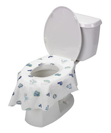 Look At This Zulilyfind White Blue Disposable Toilet Seat