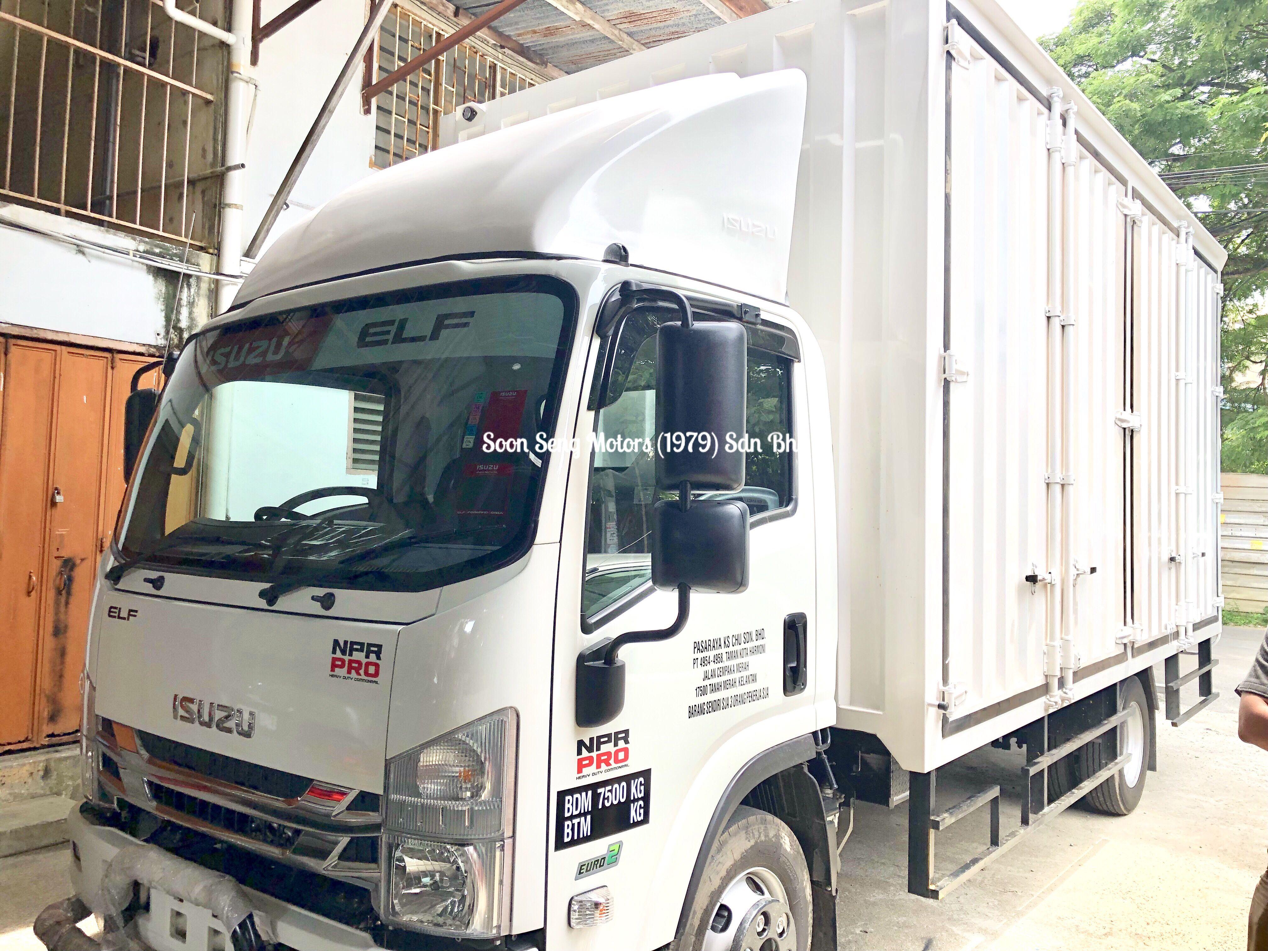 Isuzu Npr81ukh Contenna Box Box Van Van Malaysia