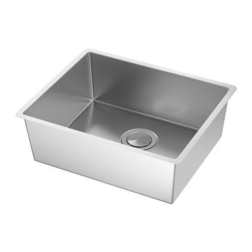 Norrsjon Sink Stainless Steel 21 1 8x17 1 4 Inset Sink Sink