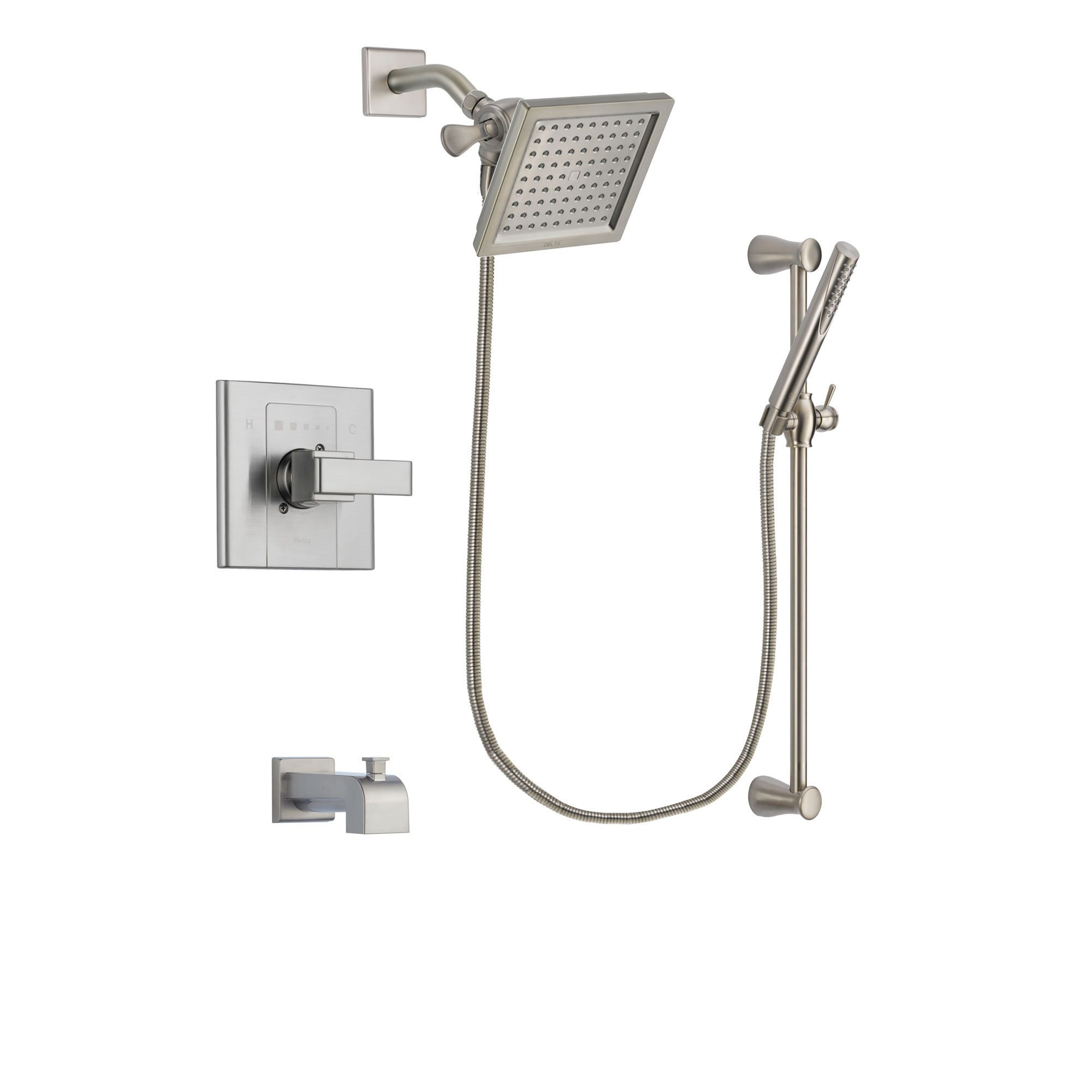 square pkg tile function shower dual unique product grohe kits peel modern system thm