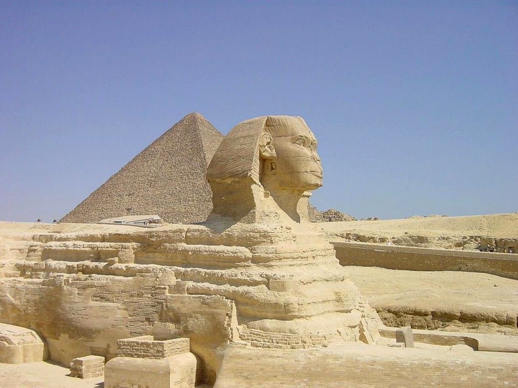 See the pyramids & the sphynx