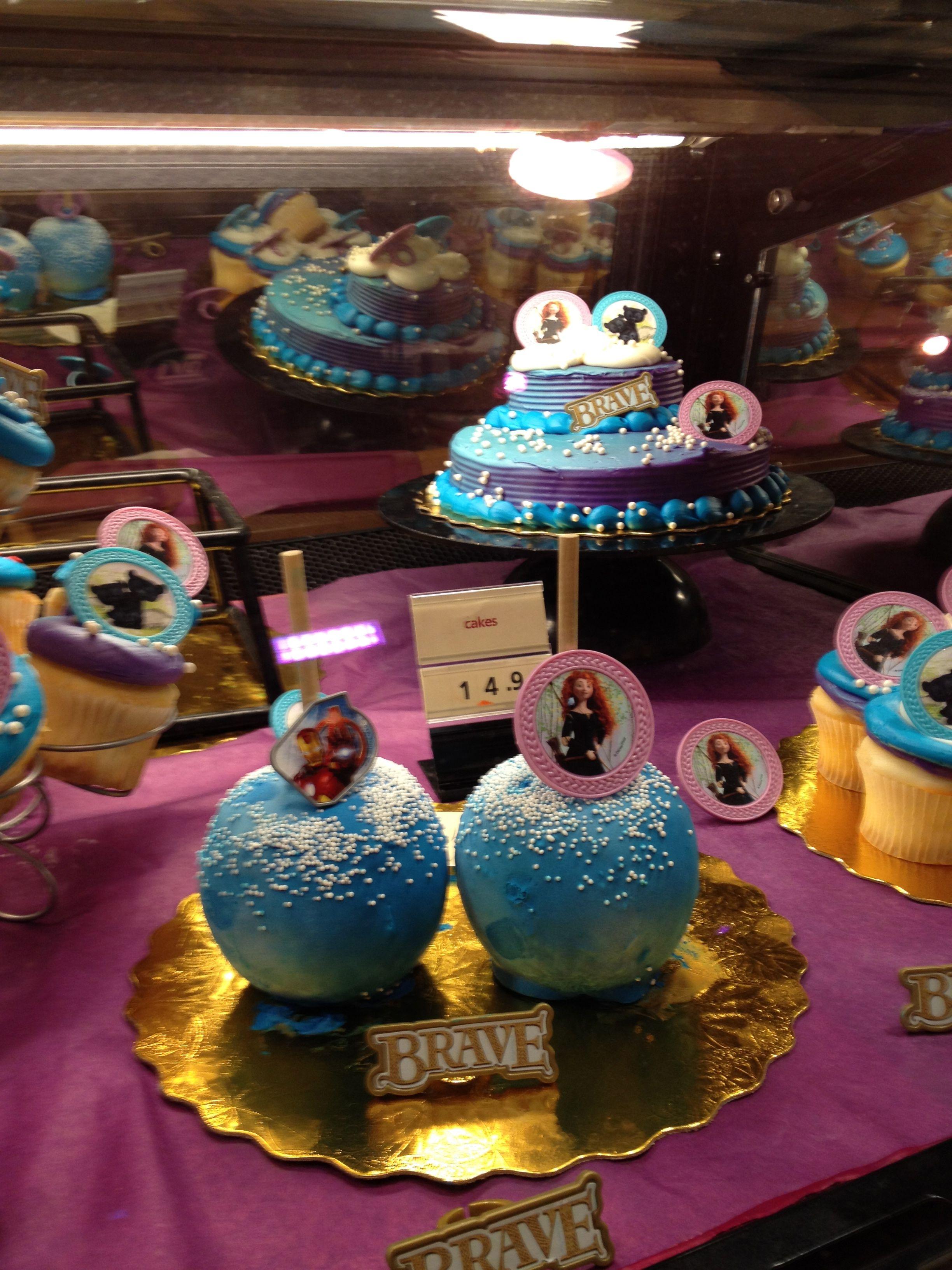 Strange Avengers Or Merida Brave Candy Apples Cake And Cupcakes I Love Funny Birthday Cards Online Elaedamsfinfo