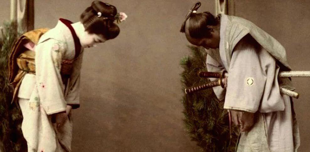 Ojigi the art of bowing japanism pinterest explore japanese etiquette japanese photography and more m4hsunfo