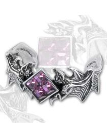 Bracelet Alchemy Gothic 'bird of death'