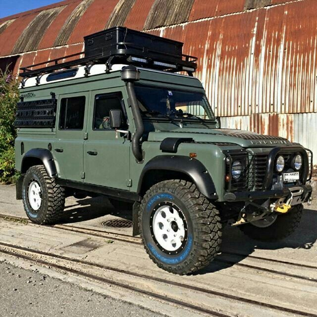 Incridible Land Rover Diesel For Sale On Range Rover Sport: Land Rover Defender 110 Extreme Adventure Prepared.