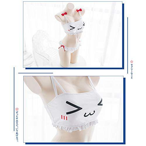 8663e68be80e YOMORIO Womens Cute Anime Bikini 2PCS Swimsuit Lolita Japanese Cosplay  Lingerie Underwear,#Anime, #Bikini, #PCS, #YOMORIO