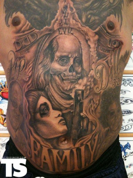 dead presidents movie tattoo pin dead presidents tattoo