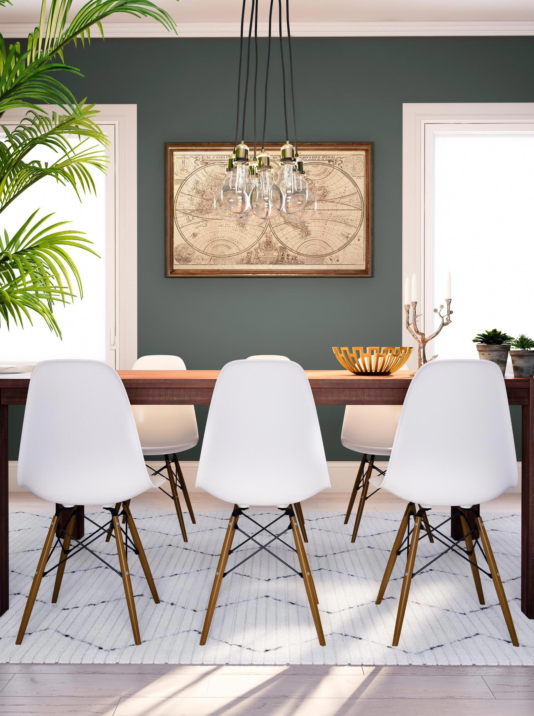 Have this dining room ready for your next dinner party. A