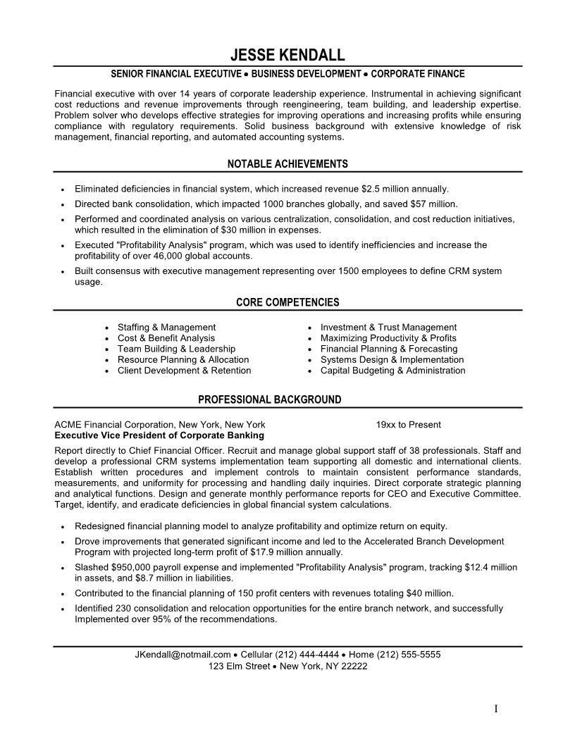 Christian Website Blog Sample Resume Resume Finance