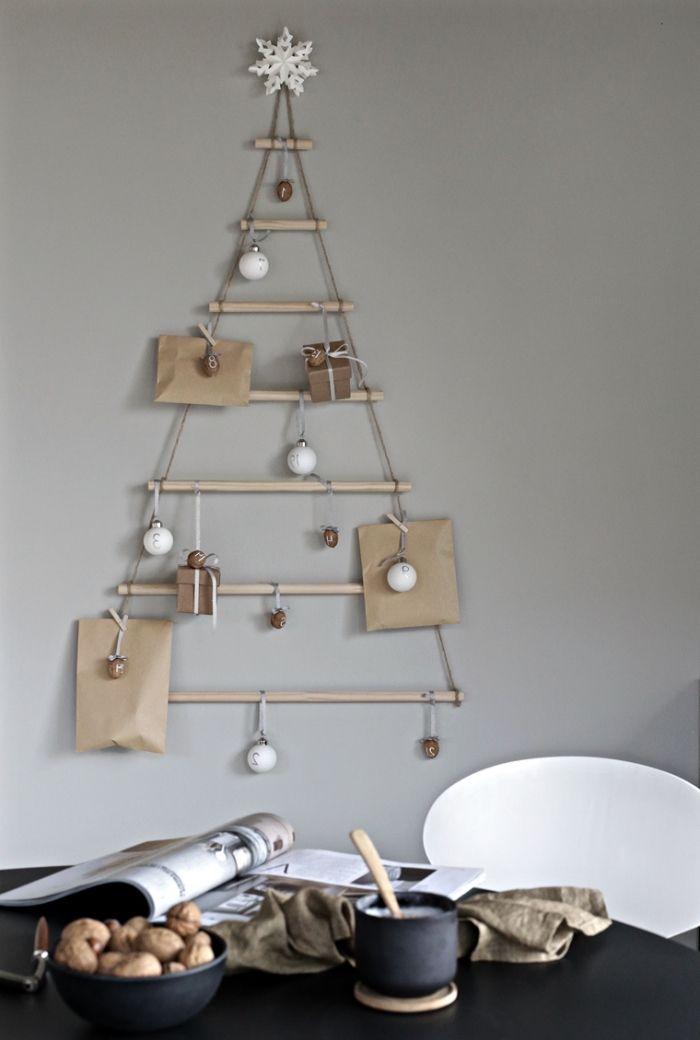 1001 + modèles de sapin de Noël en bois à bricoler en 2019   Christmas decorations to make ...