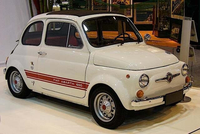 Moto D Epoca Americane Anni 60 Fiat Abarth 595 Auto D Epoca Anni